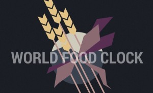 world food clock